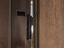 Двустворчатые (полуторные) входные двери «Редфорт  (Redfort) Арка» винорит на улицу, фото 2