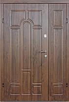 Двустворчатые, полуторные, входные двери Редфорт Арка винорит на улицу 120 см., фото 3