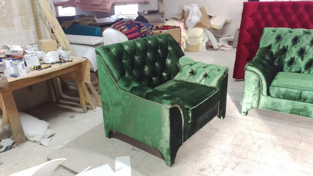Диван + крісло Прада 1