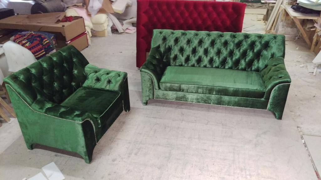 Диван + крісло Прада 2