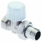 Вентиль двух ходовой под термоголову ICMA 3/4*3/4 (прямой, угловой)