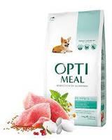 OptiMeal (Оптимил) сухой корм для щенков всех пород с индейкой 12 кг(ОТПРАВКА ПО СРЕДАМ)