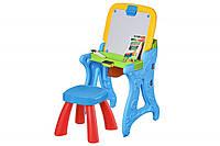 Столик-мольберт Same Toy блакитний 8815Ut