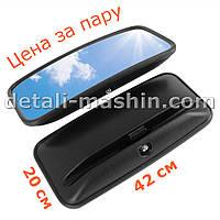 Зеркало боковое сферическое Богдан, Эталон, TATA  наружное 425х200