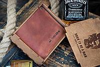 Кошелек мужской кожаный Hudson WSK с монетницей, фото 1