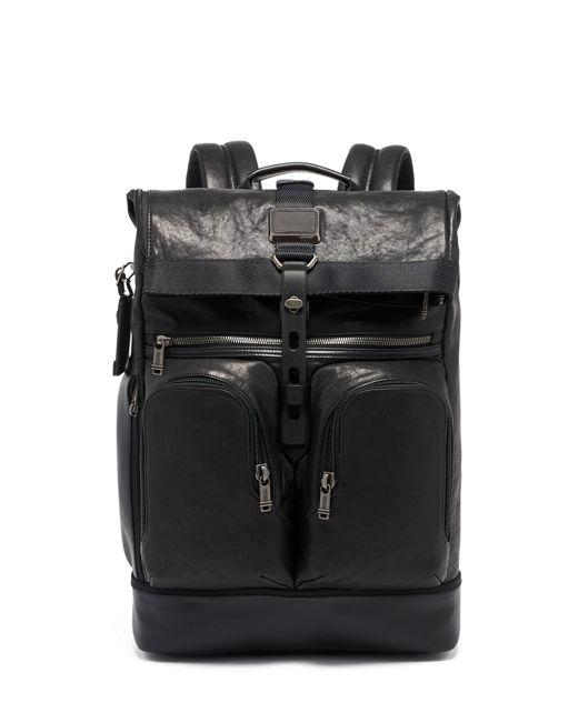 Tumi London Roll Top Backpack Leather, туристический рюкзак, сумка для отдыха, рюкзак для путишествий, прочный