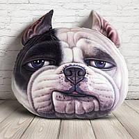 3D подушка  собака Буля