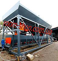 Дозирующие комплексы (БСУ), бункер для инертных материалов, на 3 емкости
