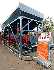 Дозирующие комплексы (БСУ), бункер для инертных материалов, бетонный завод, объем 18 м3, фото 2