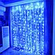 Гирлянда уличная Штора, 120 led, Синяя, 5х0,7м., фото 6