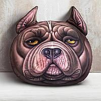 3D подушка  собака Рекс