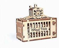 """Деревянный 3D конструктор """"Контейнер для крана""""  Wood Trick"""