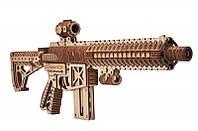 """Деревянный 3D конструктор """"Штурмовая винтовка AR-T""""  Wood Trick"""