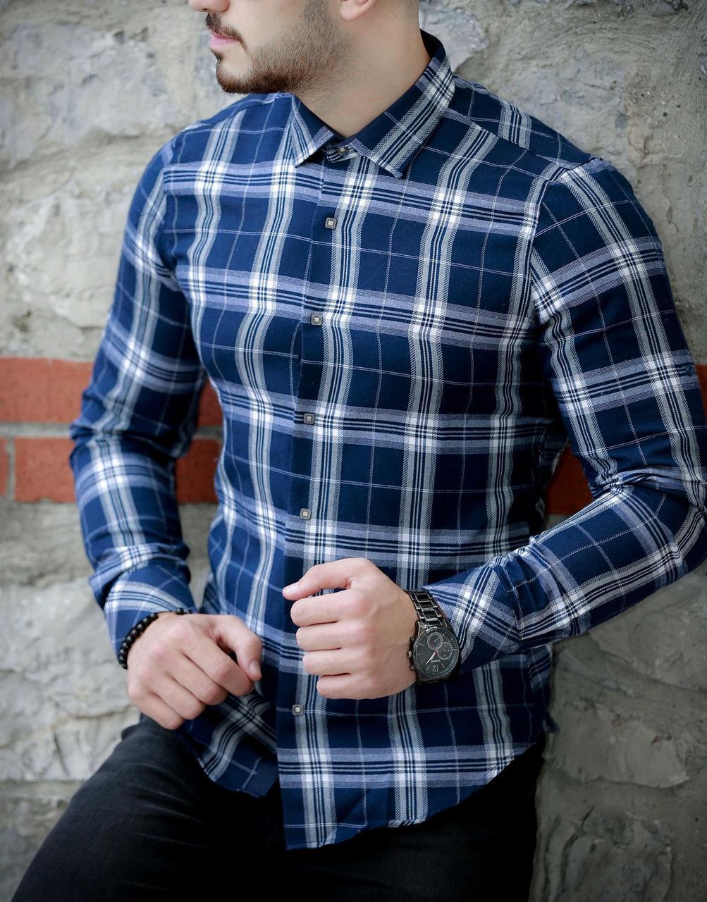 Утепленная мужская рубашка