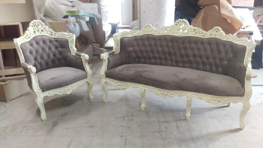 Реставрація м'яких меблів в стилі бароко. 5
