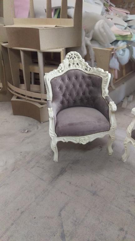 Реставрація м'яких меблів в стилі бароко. 6