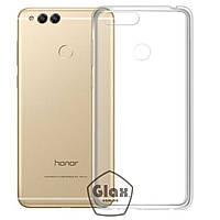 Чохол силіконовий для Huawei Honor 7X прозорий