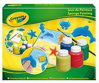 Набір для малювання гуашшю Crayola зі штампами і валиком (5314)