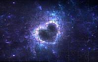 Магнитный пазл - Космическое сердце А5