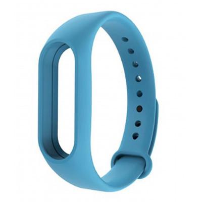 Ремешок для фитнес - трекера Xiaomi Mi Band 2 Голубой