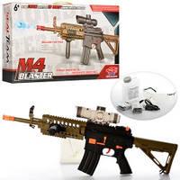 Автомат копия M4 детский SB213 два режима стрельбы (74см)