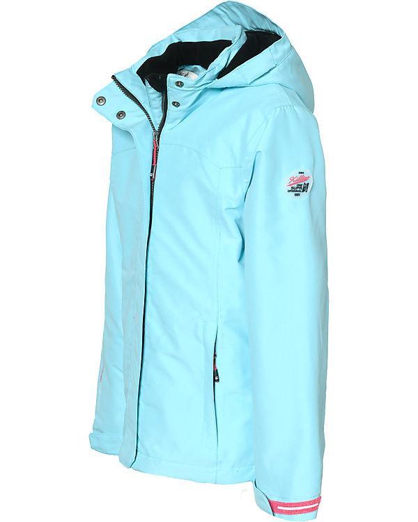 Горнолыжная куртка Killtec Kaia JR размер 128 см | Детская лыжная \ сноубордическая