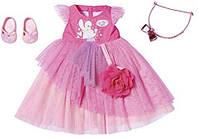 Бальное пышное платье для куклы Беби Борн (платье, туфли, обруч, сумка) - Baby Born, Zapf Creation 3+ (827178)