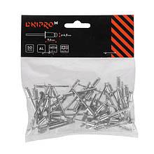 Заклепки алюминиевые Dnipro-M 4.8*9.6 мм 50 шт