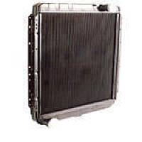 Радиатор КАМАЗ 5320 (3-х рядн.) водяного охлаждения медн. (TEMPEST), 5320-1301010-С
