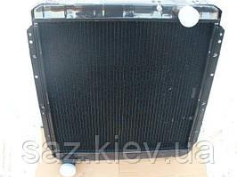 Радиатор КАМАЗ 54115 (3-х рядн.) водяного охлаждения с повыш.теплоотд (пр-во ШААЗ), 54115-1301010-10