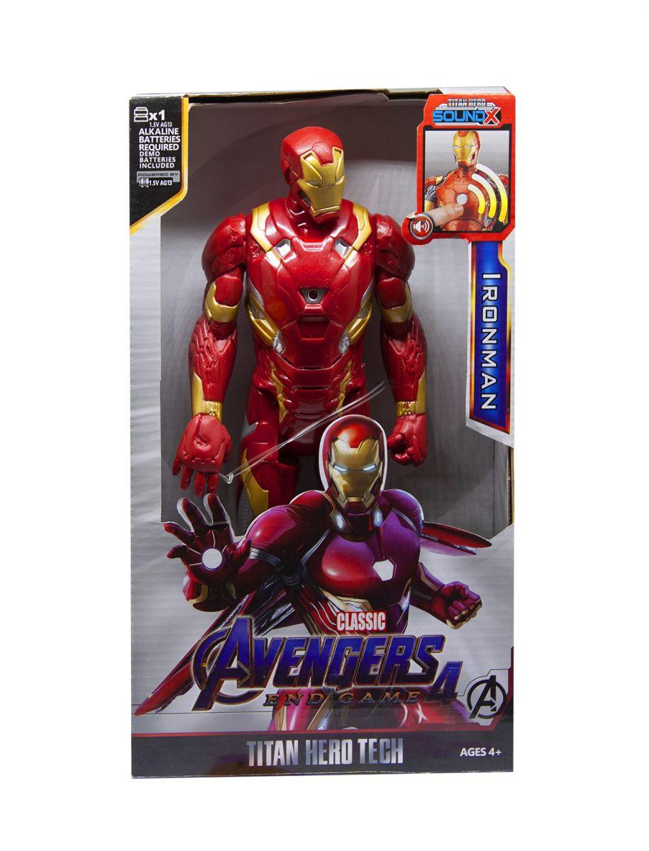 "Фигурка Железный человек ""Мстители"" со звуком Marvel Avengers Iron man 28см"