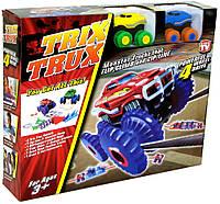 Набор машинок Trix Trux 2 монстр трак машинки с трассой трикс тракс