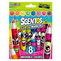 Набір ароматних маркерів для малювання Scentos плавних ліній 8 кольорів (40605)
