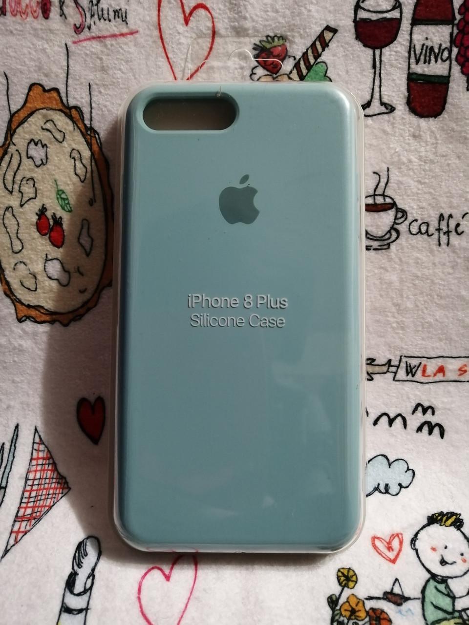 Силиконовый чехол для Айфон 7 Plus / 8 Plus  Silicon Case Iphone 7+/8+ в защищенном боксе - Color 11