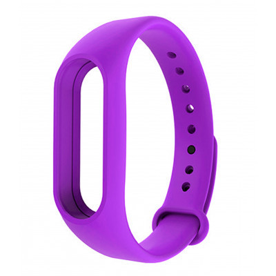 Ремешок для фитнес - трекера Xiaomi Mi Band 2 Фиолетовый