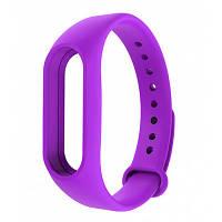 Ремешок для фитнес - трекера Xiaomi Mi Band 2 Фиолетовый, фото 1