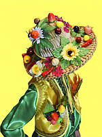 Шляпа к костюму 12 Месяцев. Месяц Июнь, Июль, Август