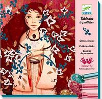Набір для малювання блискітками Djeco Золото і шовк (DJ09505)