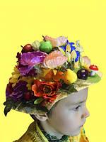 Шляпа Урожай к костюму 12 Месяцев. Месяц Июнь, Июль, Август, фото 1