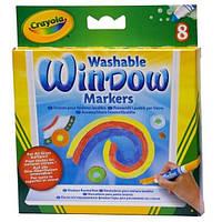 Фломастери для малювання на склі Crayola 8 шт (58-8165)