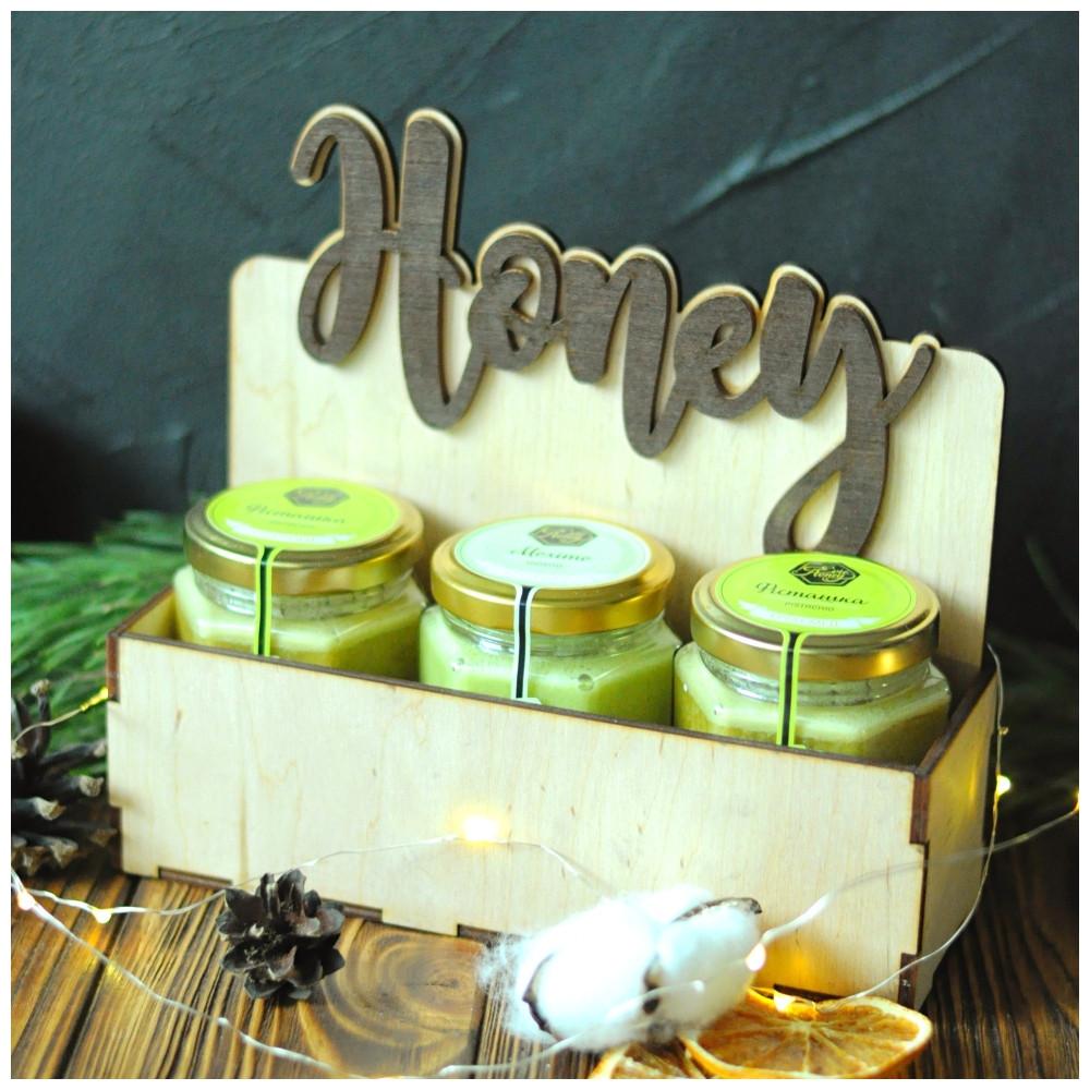 """Новогодний подарок с крем-медом """"Honey"""""""