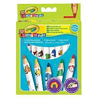 8 кольорових олівців Crayola з червоного дерева (3678)