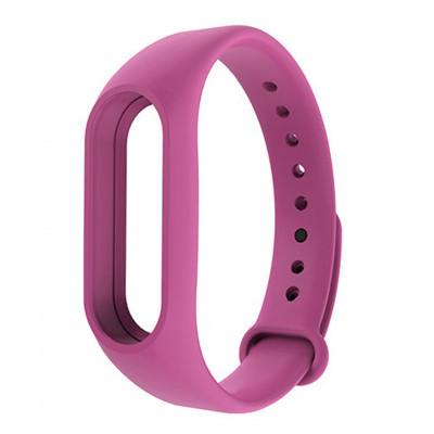 Ремешок для фитнес - трекера Xiaomi Mi Band 2 Розовый