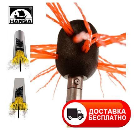 TORNADO Hansa роторный набор для чистки дымохода под дрель (Литва)
