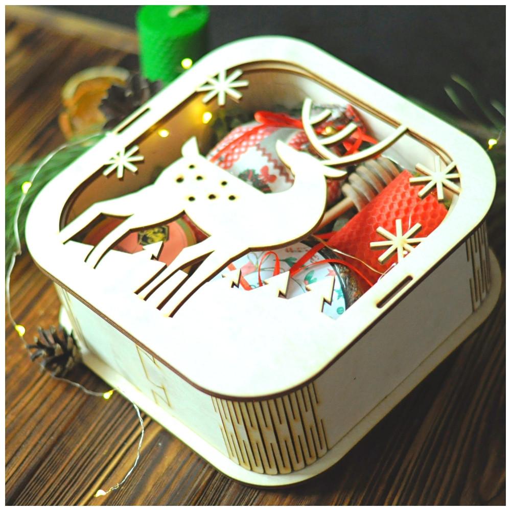 """Новогодний подарок с крем-медом """"Новогодняя сказка"""""""