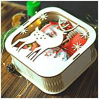 """Новогодний подарок с крем-медом """"Новогодняя сказка"""", фото 1"""