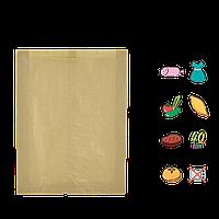 Бумажный пакет без ручек крафтовый 340х250х60мм (ВхШхГ) 40г/м² 100шт (753)