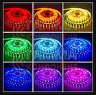 Светодиодная лента с пультом ip67 RGB smd5050 60Led/m (комплект 5 метров), фото 3