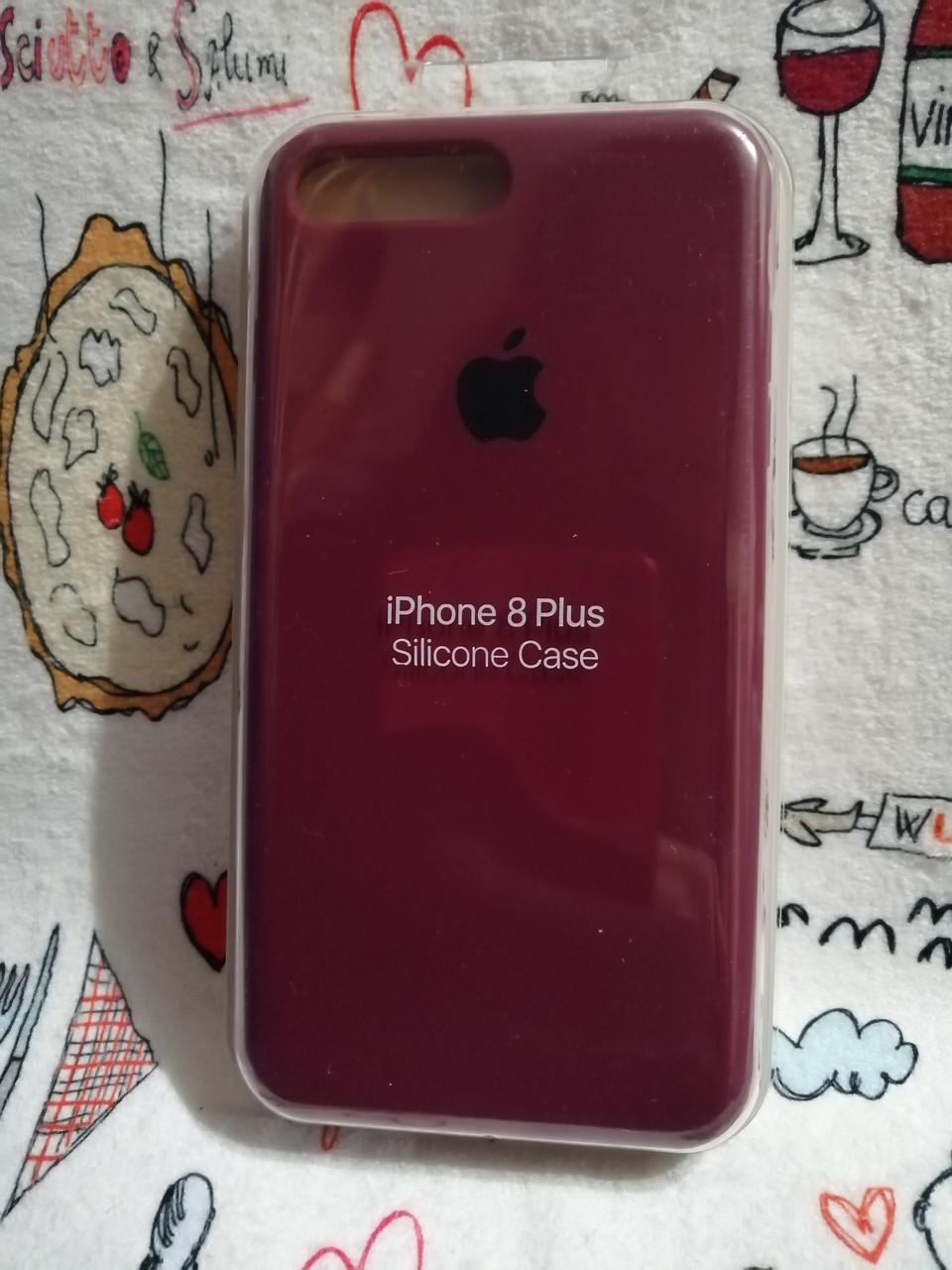 Силиконовый чехол для Айфон 7 Plus / 8 Plus  Silicon Case Iphone 7+ / 8+ в защищенном боксе - Color 16