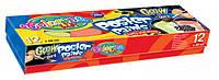 Фарби гуашеві Colorino 12 кольорів 20 мл у картонній упаковці (19903PTR)